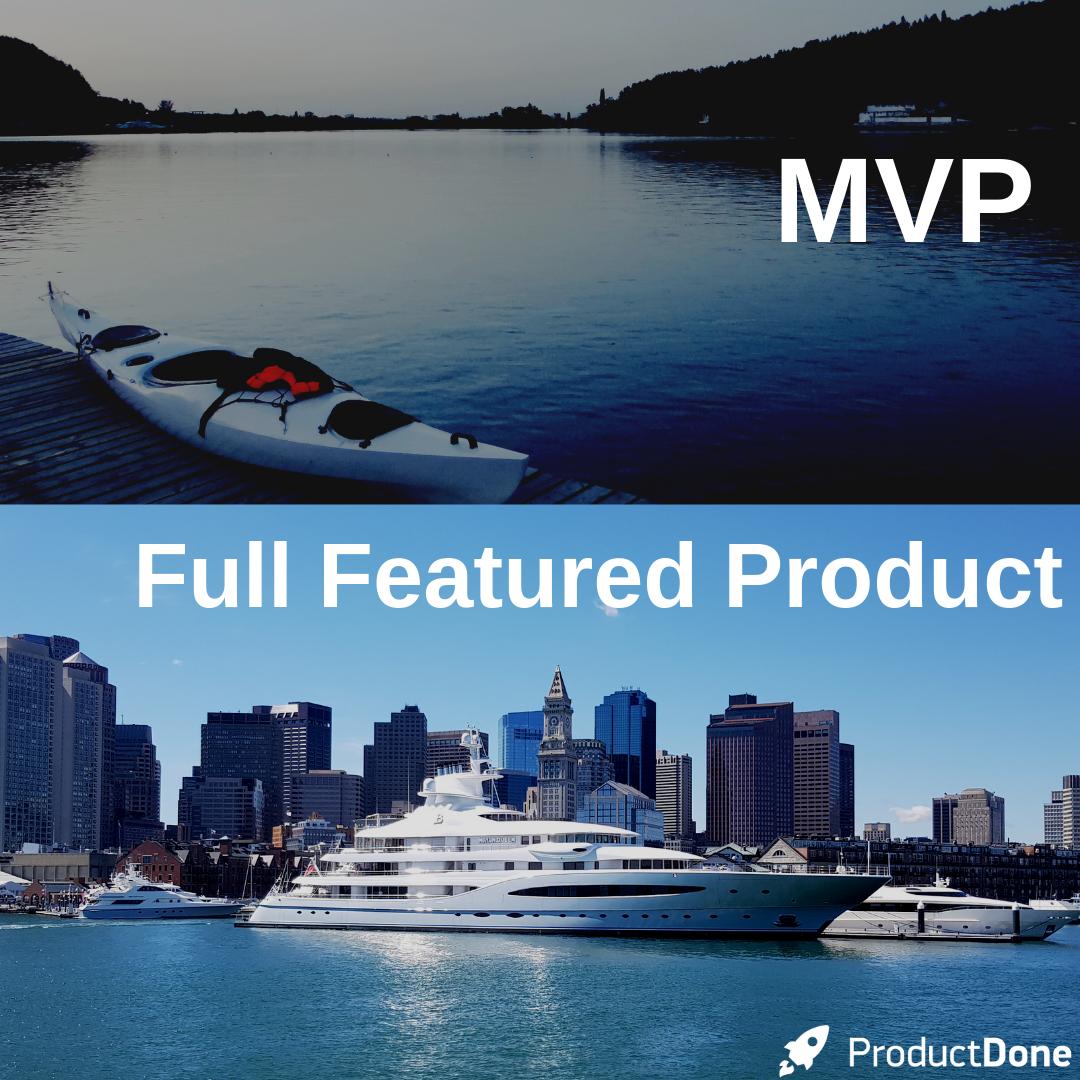 mvp vs full product